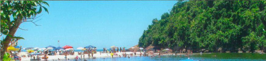 Rio e Praia de Itamambuca SP