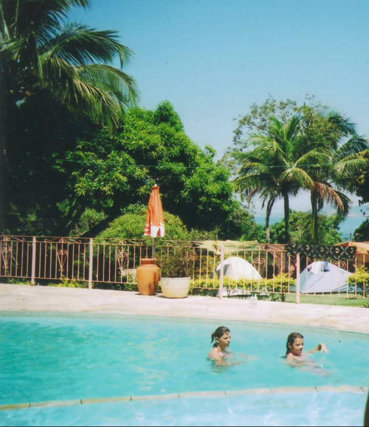 Piscina Camping Pedra do Sino - Ilhabela SP