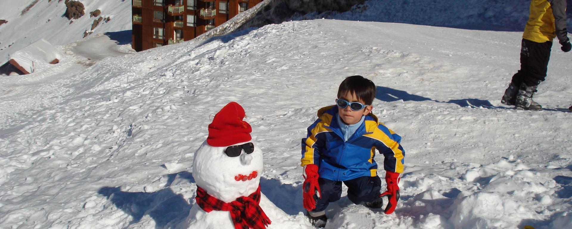 Boneco de Neve - Chile