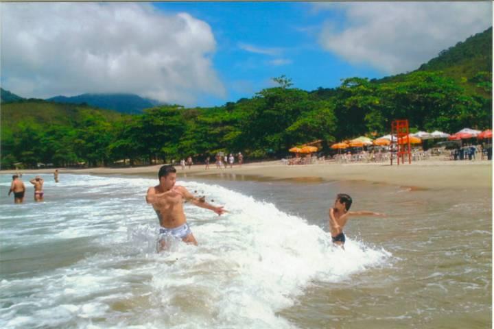 Praia de Castelhanos - Ilhabela SP