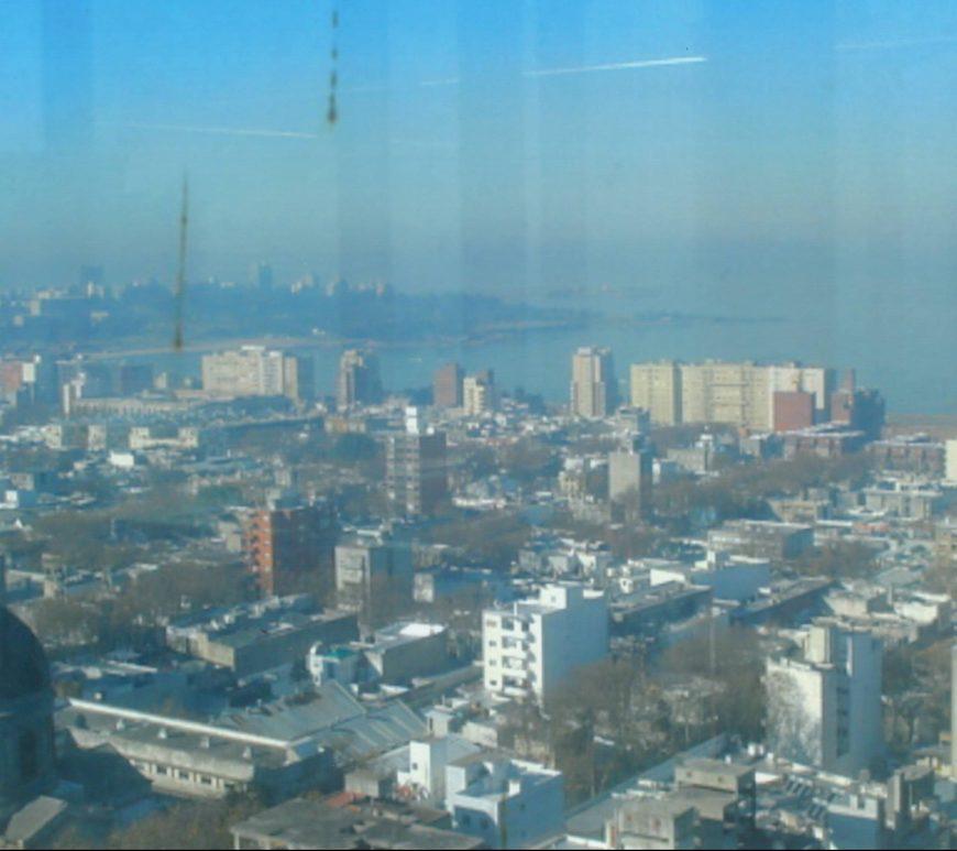 Vista do Mirador da Intendência - Montevidéu