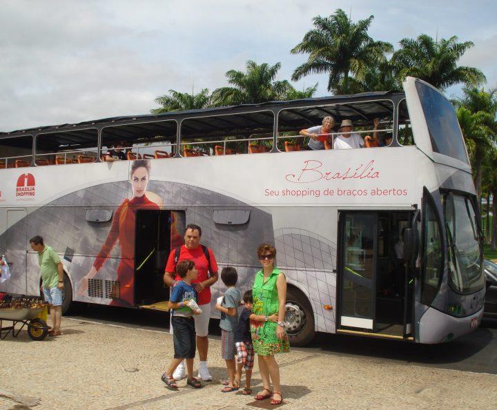 Ônibus City Tour em Brasília