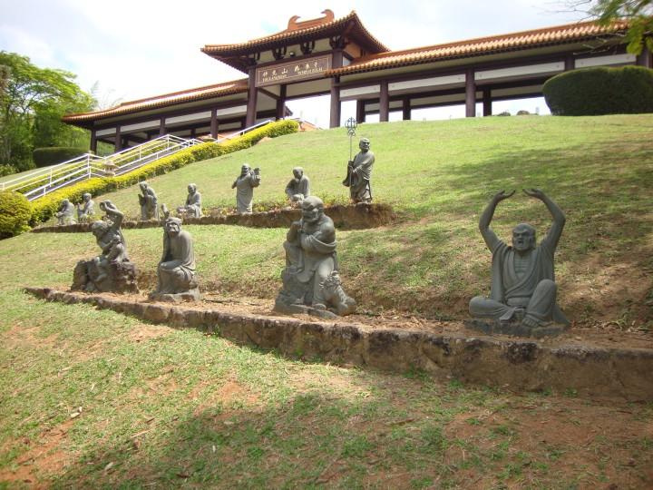 Estátuas Templo Zu Lai - Cotia SP