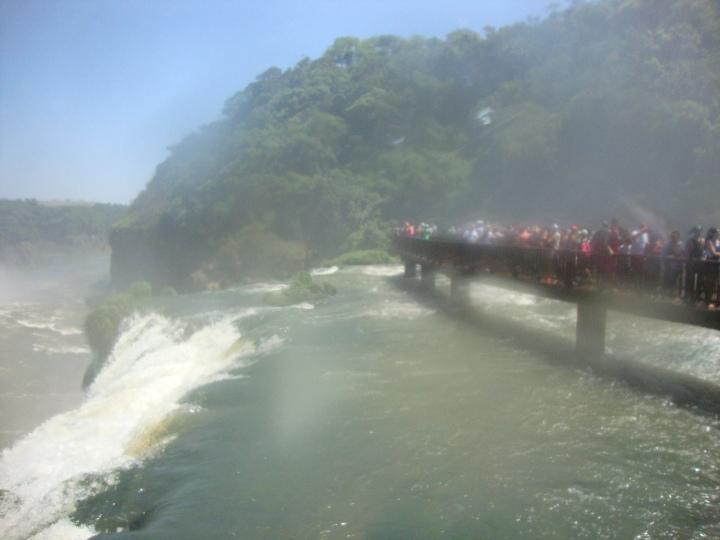 Passarela Parque das Cataratas Foz do Iguacu PR