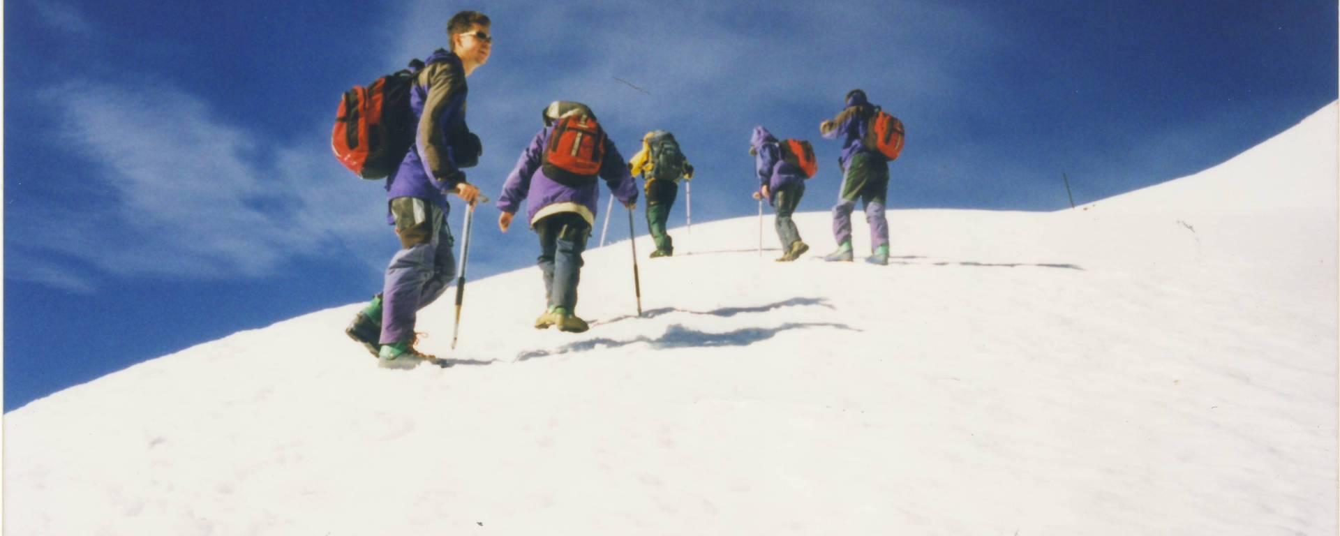 Subida para o Vulcao Villarrica - Chile