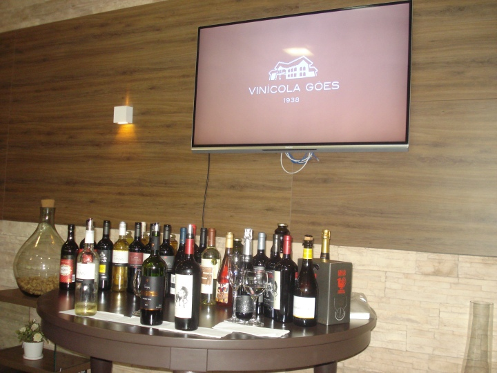 Degustacao Vinicola Goes Sao Roque SP
