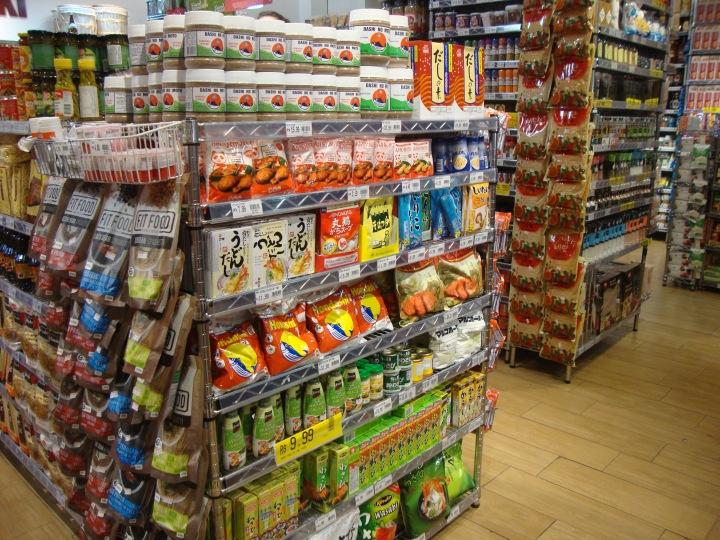 Loja de produtos orientais na Liberdade SP