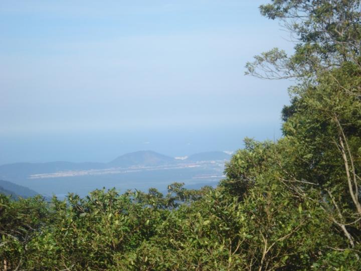 Vista do Mirante de Paranapiacaba Santo Andre SP