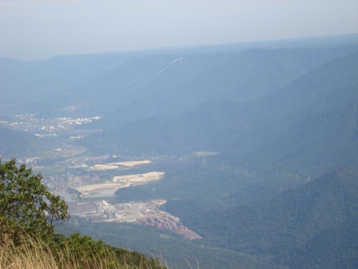 Vista na trilha do Mirante Paranapiacaba Santo Andre SP