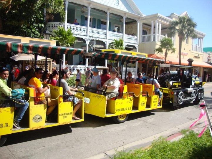 Passeio de trenzinho pelo centro - Key West