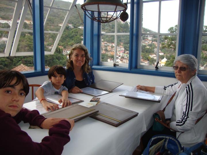 Restaurante Benê da Flauta - Ouro Preto - MG