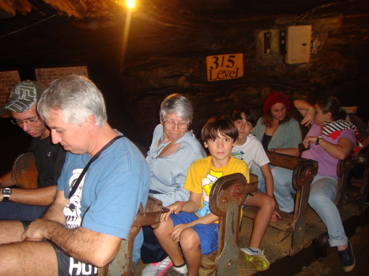 Carrinho da Mina da Passagem - Ouro Preto - MG