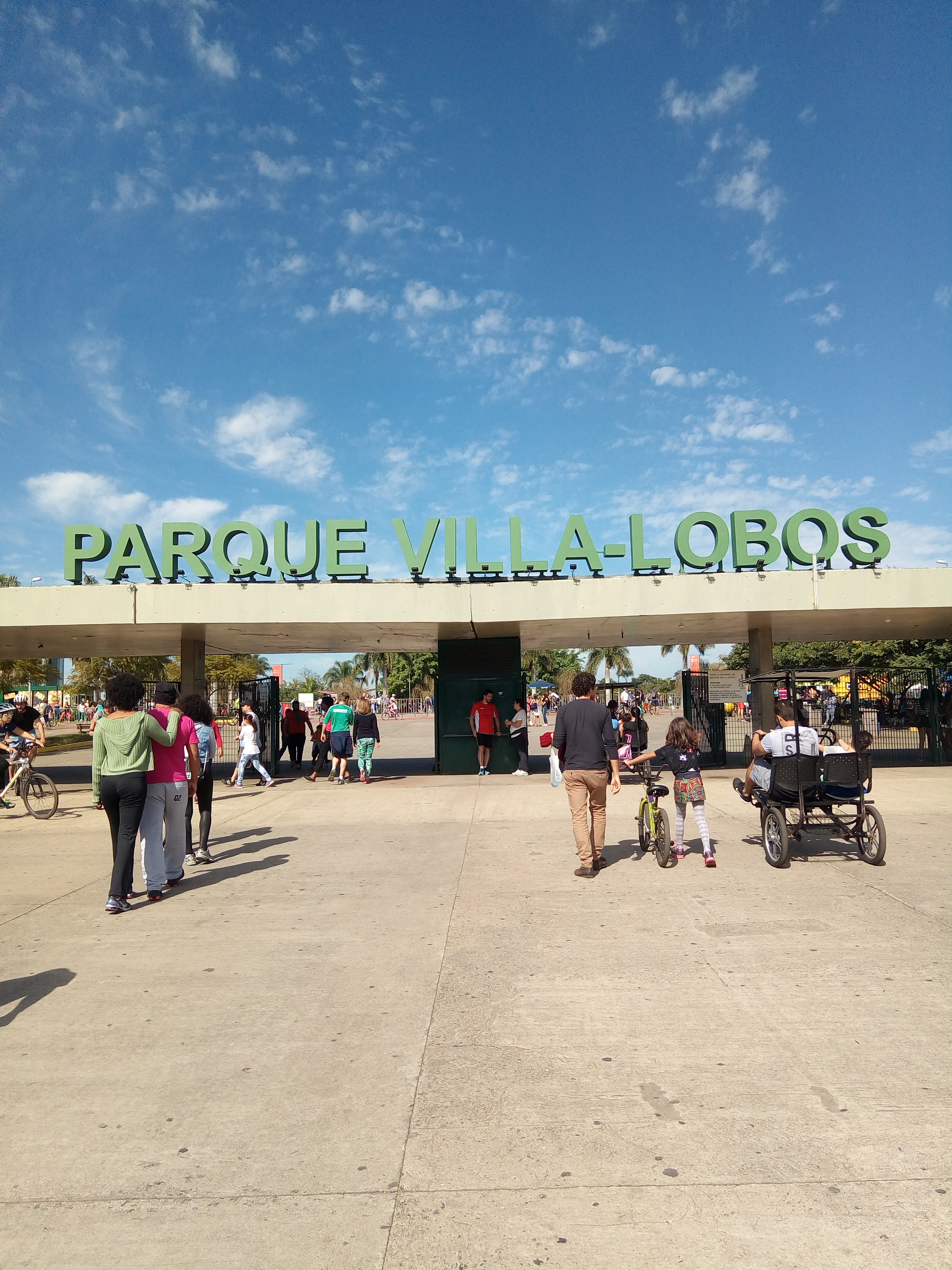 PARQUE VILLA LOBOS SP