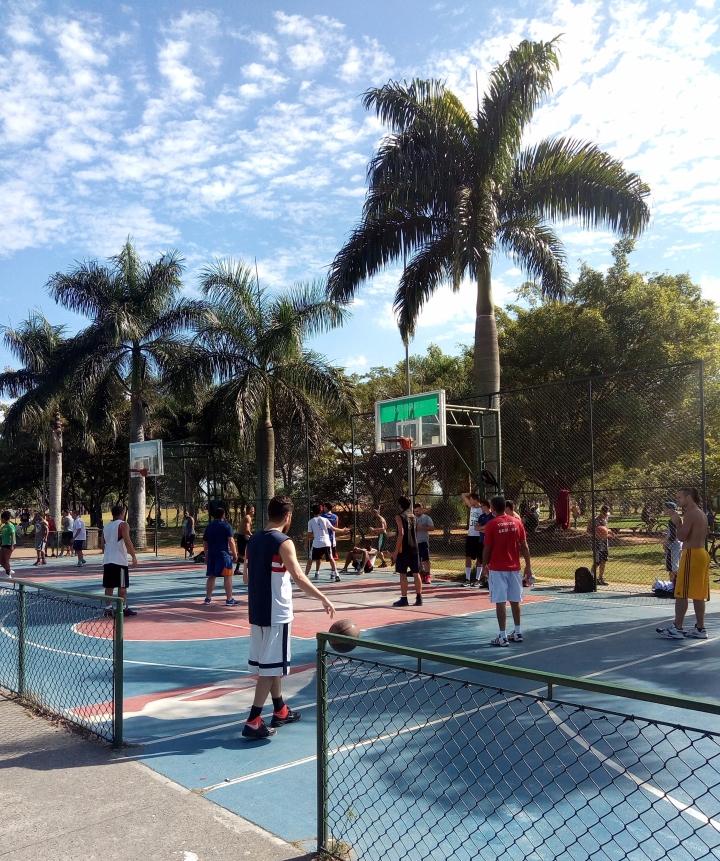STREET BASKETBALL PARQUE VILLA LOBOS SP