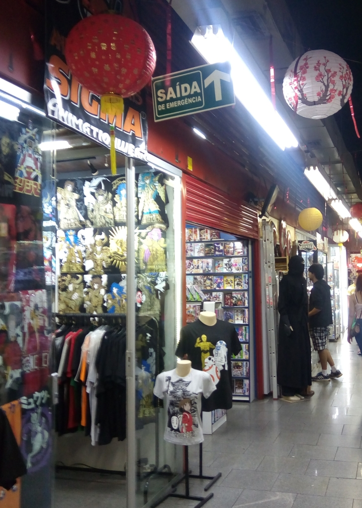 Galeria na Rua Galvão Bueno, Liberdade, SP
