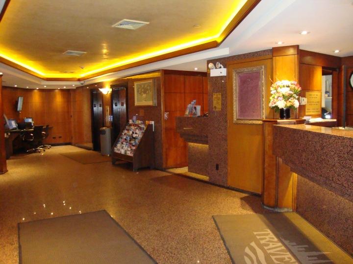 Recepção Hotel Travel Inn New York