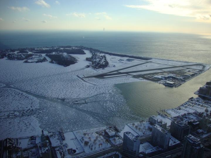 Lago Ontario visto da CN Tower