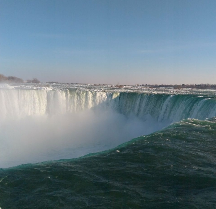 Horseshoe Falls - Niagara Falls - Canadá
