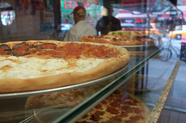 Pizzas em Nova Iorque