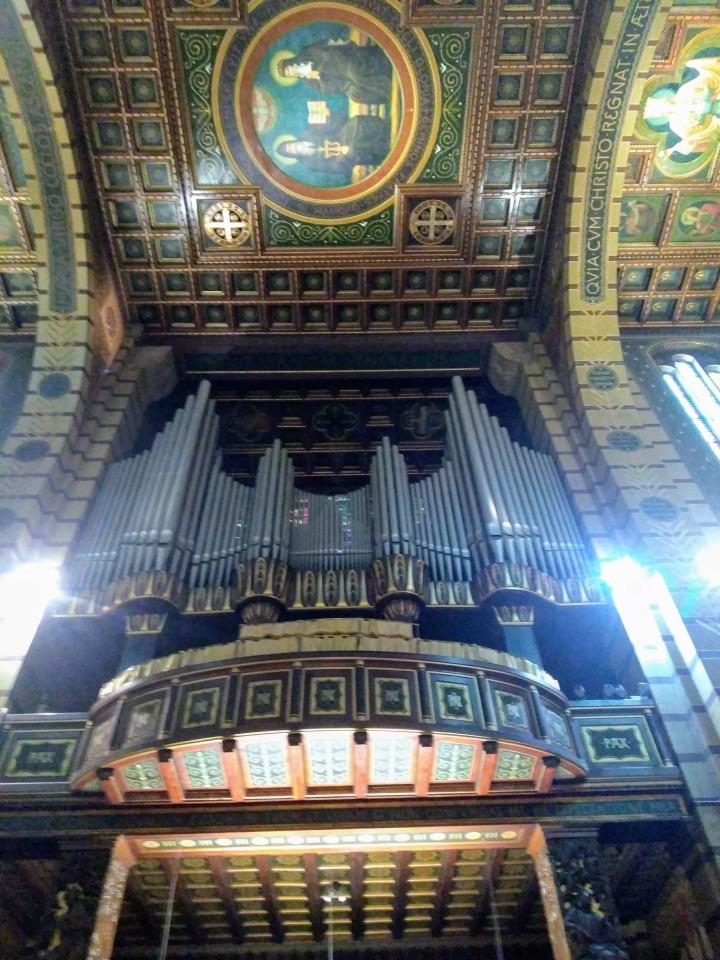 Órgão da Basílica de Nossa Senhora da Assunção no Mosteiro de São Bento SP