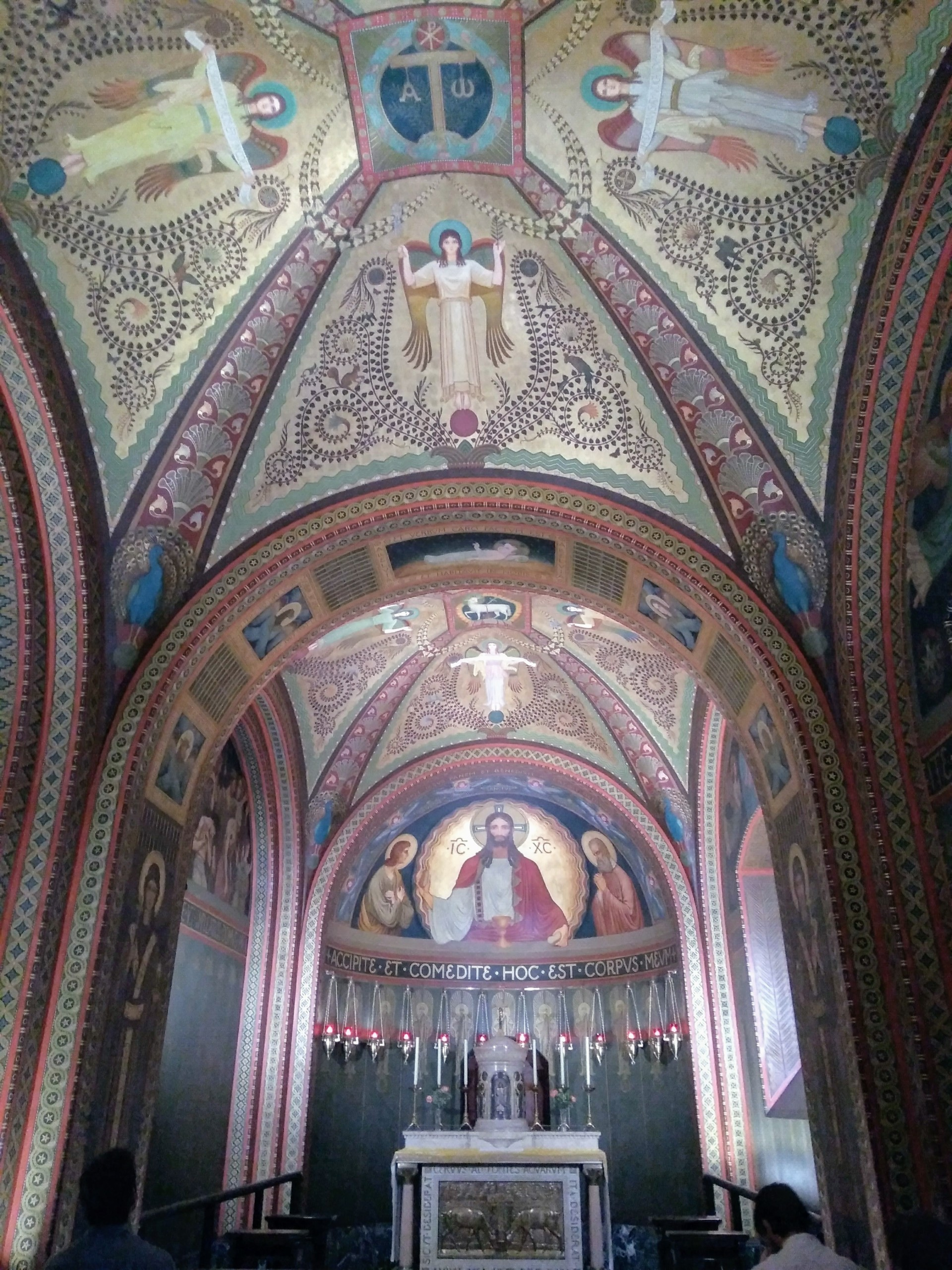 Basílica de Nossa Senhora da Assunção no Mosteiro de São Bento SP