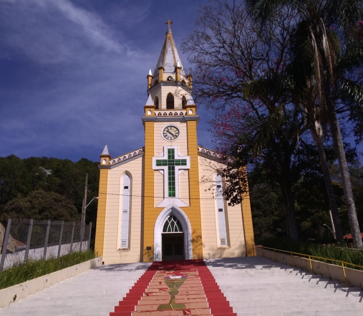 Igreja Matriz de Passa Quatro MG