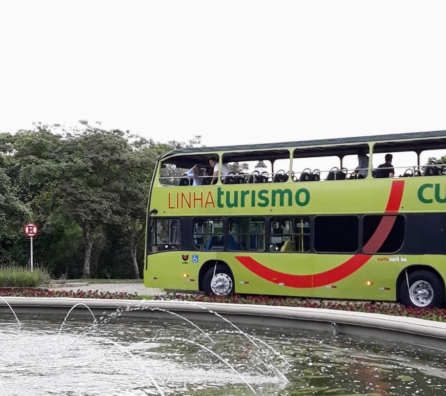 Ônibus turístico Linha Turismo Curitiba