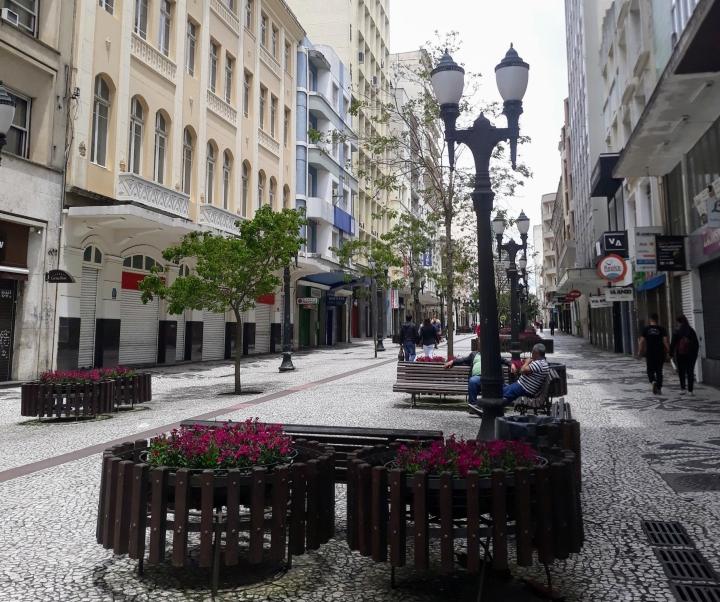 Rua das Flores - Curitiba
