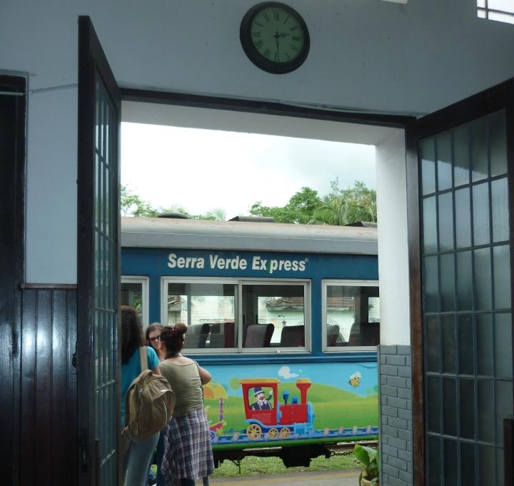 Estação ferroviária Morretes PR