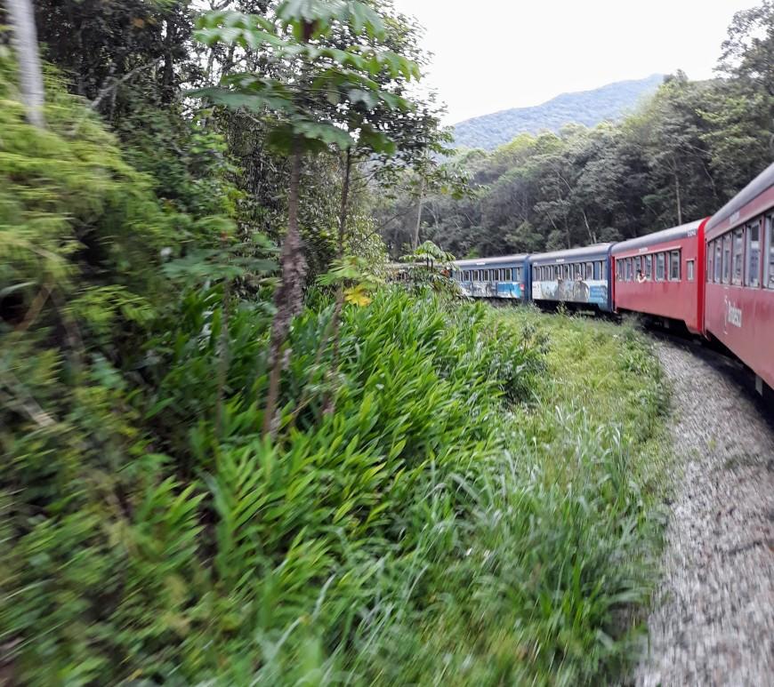 Trem Morretes-Curitiba PR