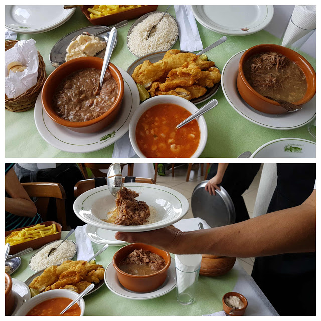 Barreado no Restaurante Madalozo - Morretes PR