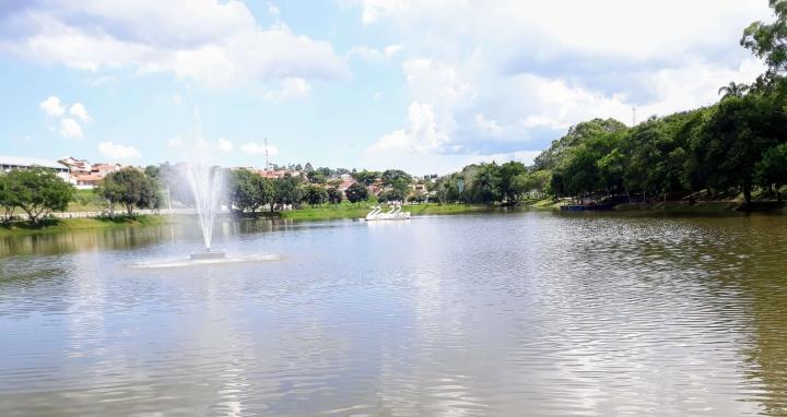 Lagoa do Guapé em São Miguel Arcanjo SP