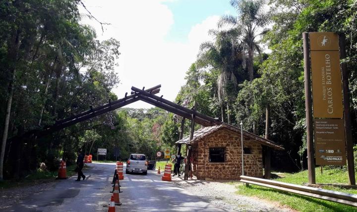 Parque Estadual Carlos Botelho em São Miguel Arcanjo SP