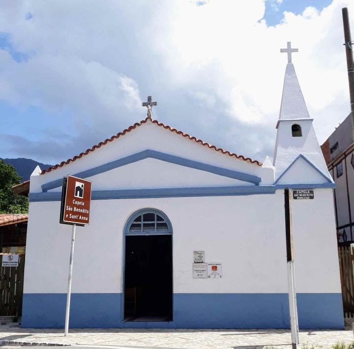 Capela São Benedito e Sant'Anna - Maresias SP
