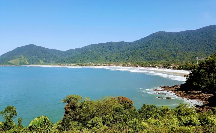 Praia de Maresias - Trilha Maresias-Paúba