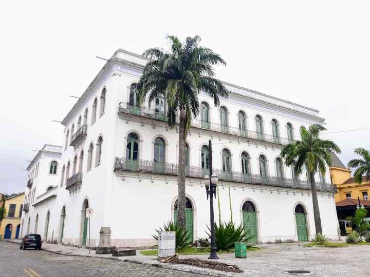 Casarões do Valongo - Museu Pelé - Santos SP