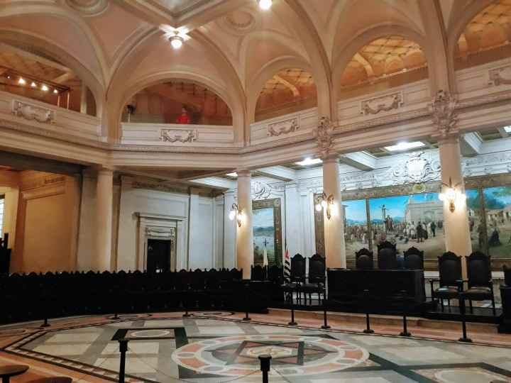Salão do Pregão - Museu do Café - Santos SP