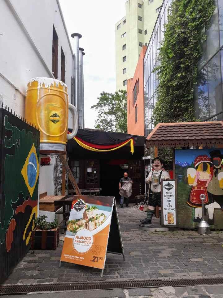 Bar do Alemão em Curitiba PR