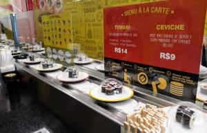 Go Go Sushi em Curitiba PR