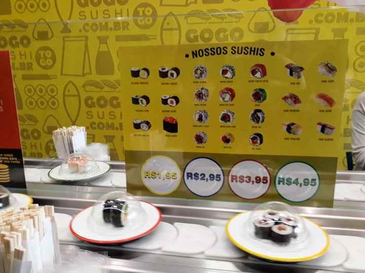 GoGo Sushi Curitiba PR