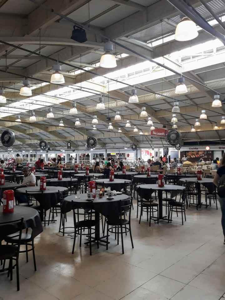 Mercado Municipal de Curitiba - Praça de Alimentação
