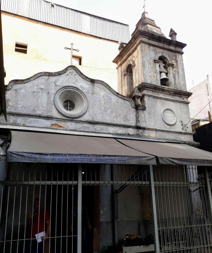 Capela dos Aflitos - Bairro da Liberdade SP