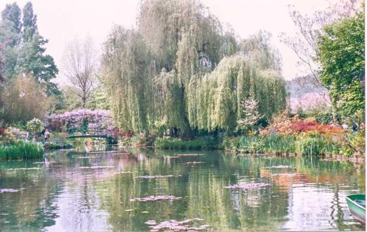 Jardins de Monet em Giverny, França