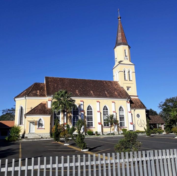 Pomerode SC - Igreja Luterana