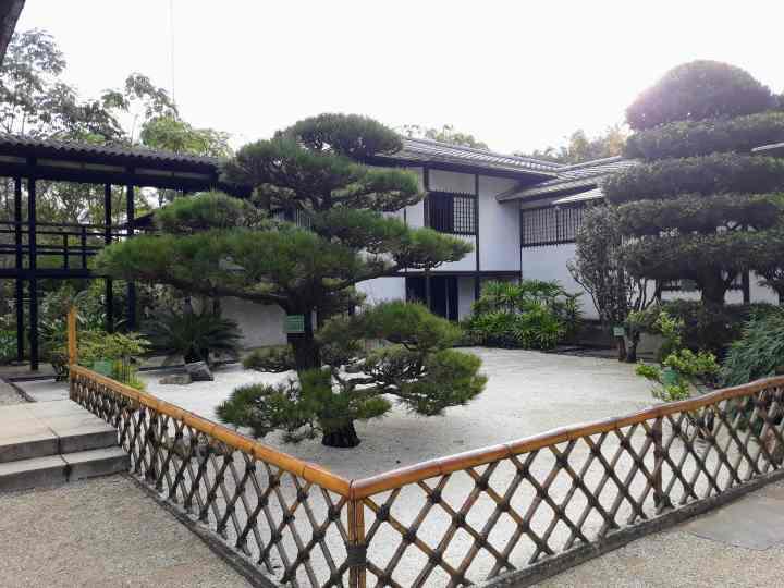 Pavilhão Japonês no Parque do Ibirapuera SP